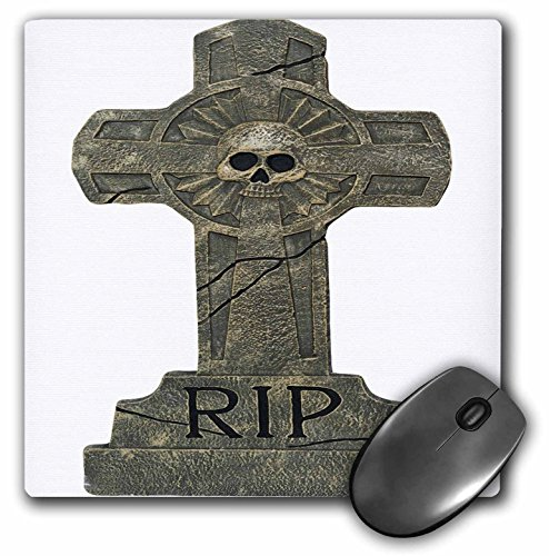 3dRose Halloween Rip Headstone Mouse Pad (mp_131315_1)]()