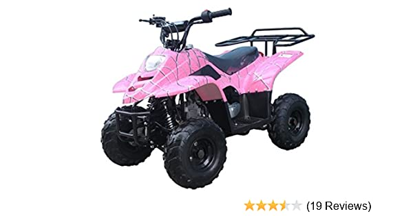 Amazon com: 110cc ATV Four Wheelers Fully Automatic 4 Stroke Engine