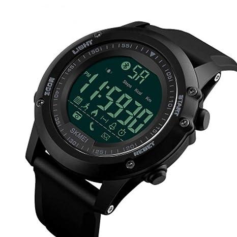 Easy Go Shopping Reloj Inteligente electrónico Reloj de Cuenta de Pasos Cámara Bluetooth Reloj Multifuncional (