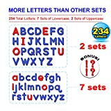 Inspired Thinkers 240 Pcs Magnetic Letters Set
