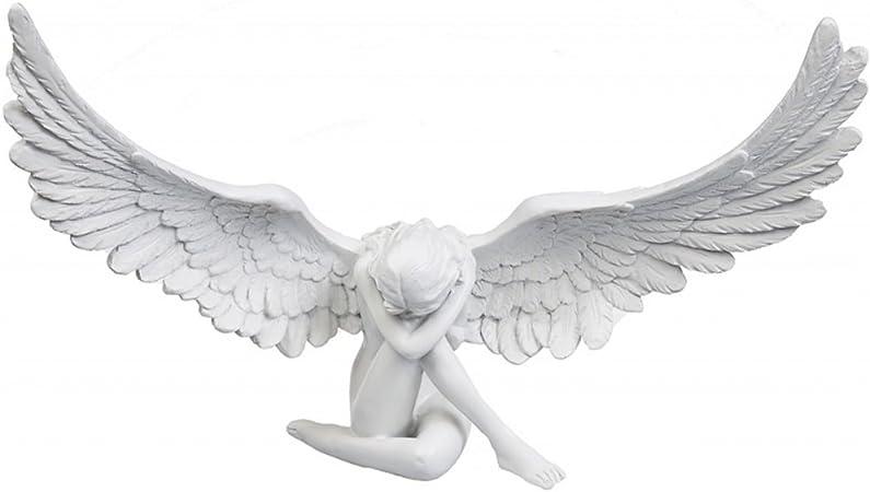 Gartenengel Gartenfigur Angel Grabengel Trauerengel Deko Figur Angel Engelsfigur