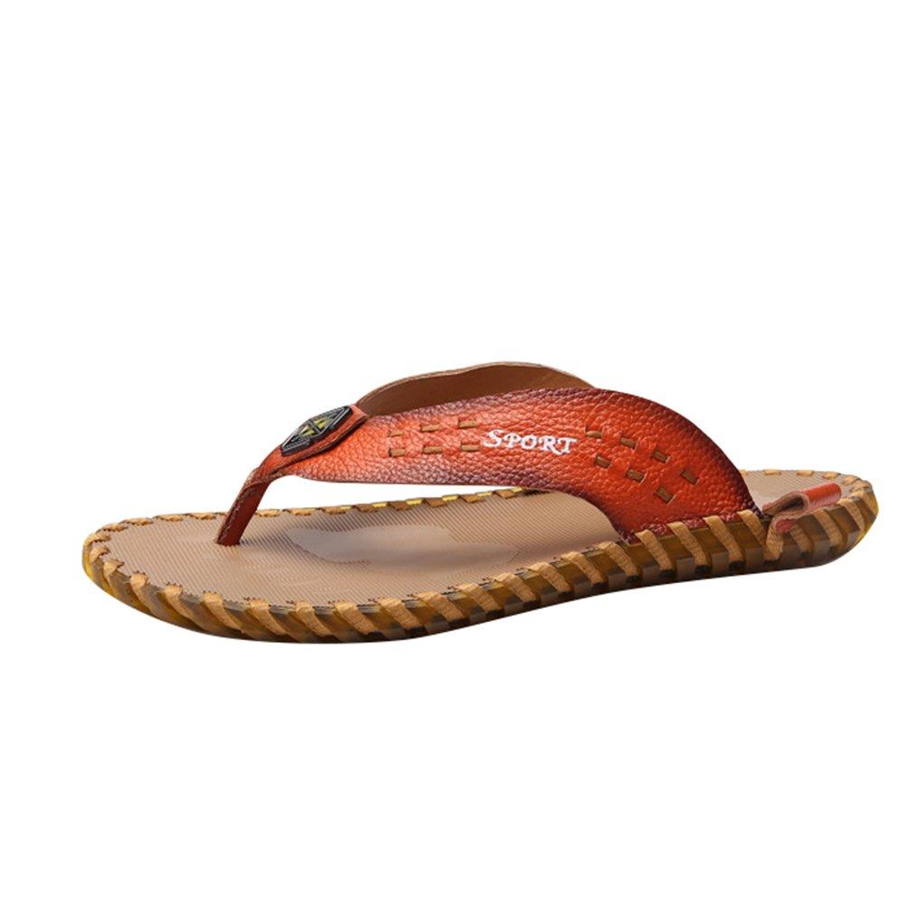 CHENYANG Homme Mode Chaussures de Plage Peep-Toe Lé ger Sandales Pantoufles Occasionnels