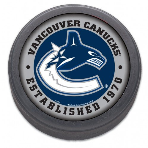 NHL Vancouver Canucks Hockey Puck