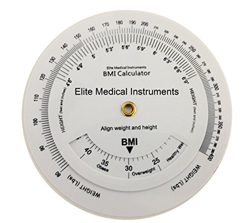 EMI BMI Wheel Calculator 4.25 inch, Single sided, Adult ECB-201
