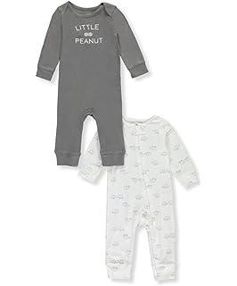 4c2278d22f4b Amazon.com  Newborn Romper Jumpsuit Leggings Bodysuit Baby Girls ...