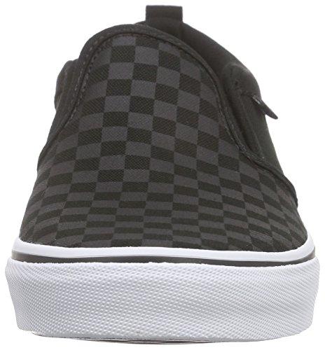 Vans Asher - Zapatillas Para Niños Negro (checker/black/black)