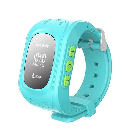 3 opinioni per Q50 Bambini GPS Orologi Smartwatch Supporto GPS/GPRS/Bluetooth Locator Tracker-