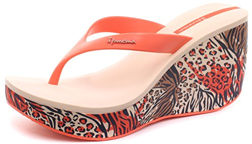 para Blush mujer Sintético Ipanema de Material vestir de Coral Sandalias qYwFZ