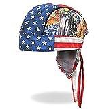 Authentic Bikers Premium Headwraps, UNCLE SAM RACER Micro-Fiber HEADWRAP