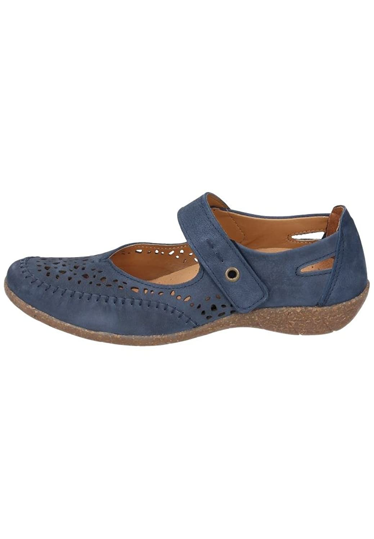 Comfortabel Damen-Slipper - G Blau 942242-5, Grösse 38