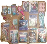 Deluxe Frozen 25 Piece Gift Set featuring Princess Elsa & Anna, perfect for Christmas Stocking Stuffers, Easter Basket Fillers, Birthdays and other Special Occassions