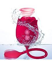 Clitoral Sucking Vibrator: Rose Vibrator Clitoral Sucking Toys with 9 Suction 9 Vibrations for Women Pleasure, Clitoral Stimulator Nipple Sucker | Rose Clit Sucker Soul Snatcher 2000