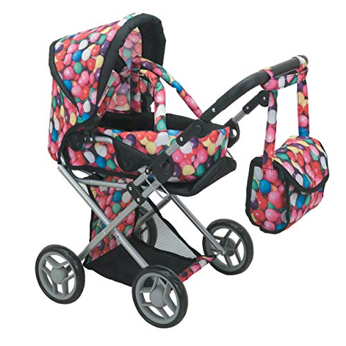 - Mommy & Me - 5 in 1 Deluxe Doll Pram- 9346