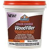 Elmer's E917 16 Oz White Carpenter's Color Change Wood Filler