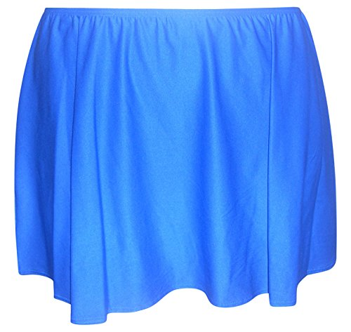Coco-Reef-Plus-Size-Womens-Swim-Skirt-Skirtini-Swimsuit-1X-3X-2X-Blue-Sea
