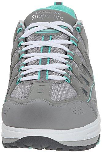 Skechers Frauen Shape Ups 2.0 Comfort Schritt Fashion Sneaker Grau / Minze