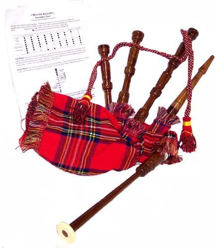 Child Size Bagpipes with Instruction Sheet