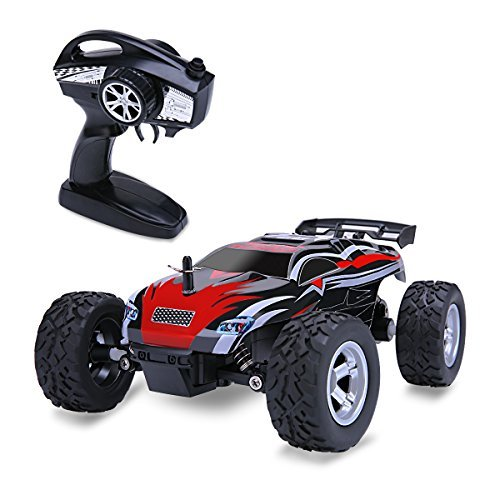 Distianert 1/24 Scale 2WD RC Car, Electric Racing Buggy(RTR) with High Speed of 15 killometer/h, 2.4GHz Radio Controlled Vehicle for Kids and Adults