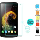 SDO™ 9H Hard Abression Proof 2.5D Tempered Glass Screen Protector for Lenovo Vibe K4 Note - Transparent