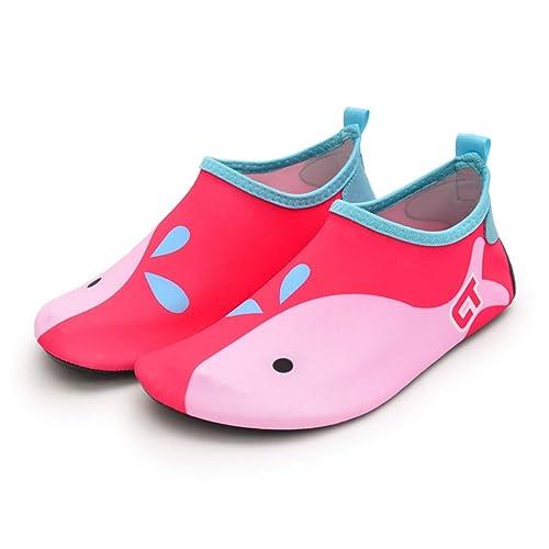 c707e285106dd Infant Baby Boys Girls Water Shoes Toddler Barefoot Aqua Socks Shoes for  Beach Swim Pool Surfing Yoga