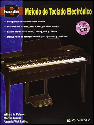 Basix Electronic Keyboard Method (Book & CD) Paperback – January 1, 1996