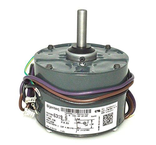 GE Trane Condenser FAN MOTOR 1/8 HP 230v 5KCP29BK6319S -  Trane GE Genteq, MOT03438