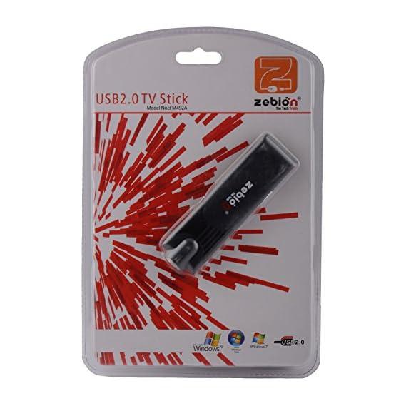 PremiumAV USB 2.0 DVB-T Digital Mobile TV Tuner Receiver with Remote for Laptop PC