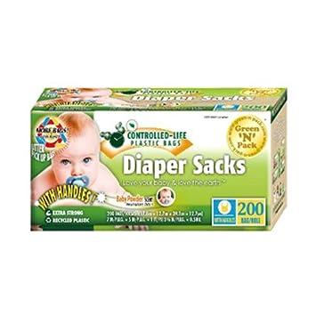 Amazon.com : N Easy-Tie perfumado del pañal del bebé sacos ...