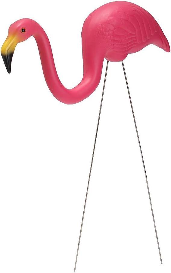 LOVIVER Gartenfigur Flamingo Vogel Deko F/ür Garten Figur Dekoration 4 Form #2