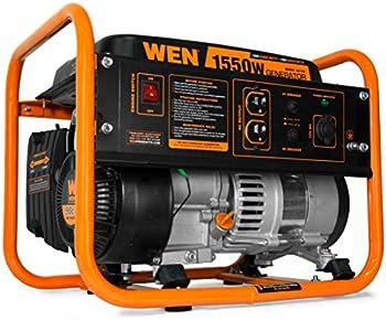 Wen 56155 4-Stroke 98cc 1550-Watt Portable Power Generator