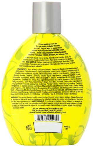 Millennium Tanning Paint it Beyond Black 100 XXX, 13.5 Oz