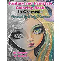 Fantasy and Fairytale Art Coloring Book