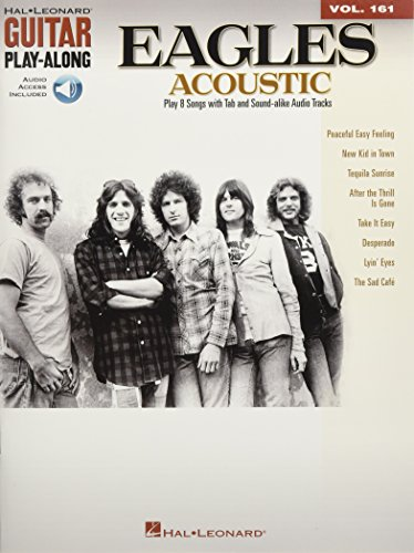 Eagles Acoustic - Guitar Play-Along Vol. 161 for sale  Delivered anywhere in USA