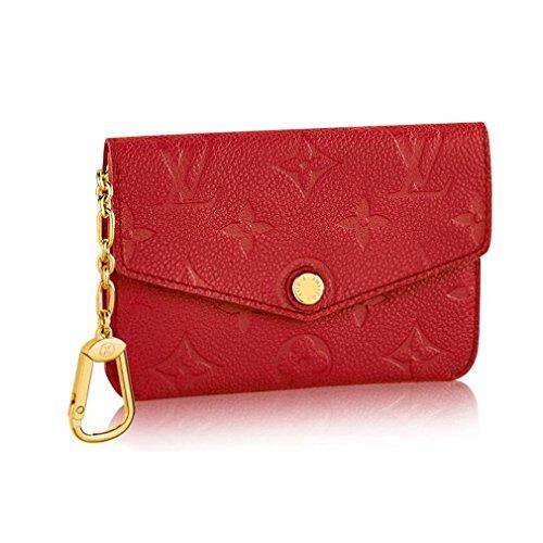 Louis Vuitton Monogram Empreinte Leather Key Pouch Cherry Article: M60634