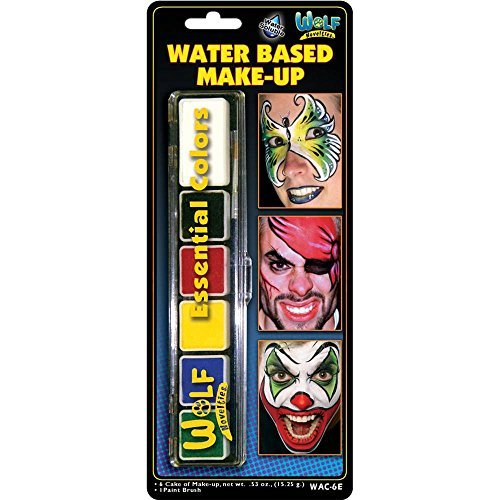 Wolfe 6 Color Face Painting Palette