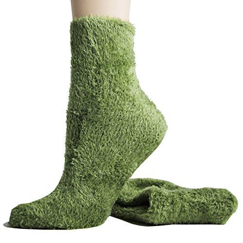 Foot Traffic Microfiber Fuzzy Socks