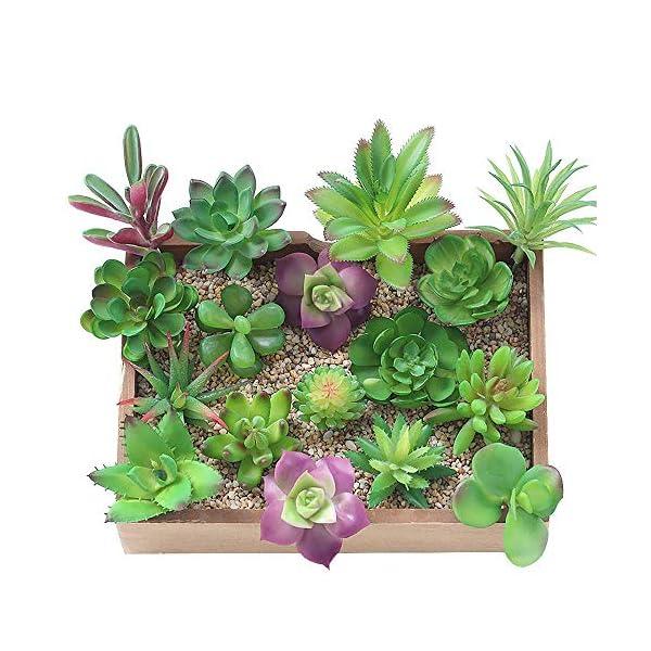 artificial-succulents-bulk-16-Pcs-Mixed-Artificial-Succulent-Flowers-Plants-Bouquet-Unpotted-Decor-Stems-Fake-Plants-Assorted-Picks-Home-Decor-Indoor-Wall-Garden-DIY-Decorations