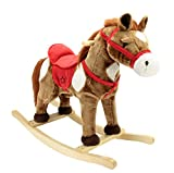 Animal Adventure Rocking Horse Rocker, Ride-on, Chestnut, 28