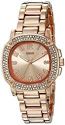 XOXO Women's Quartz Metal and Alloy Automatic Watch, Color:Rose Gold-Toned (Model: XO5911)