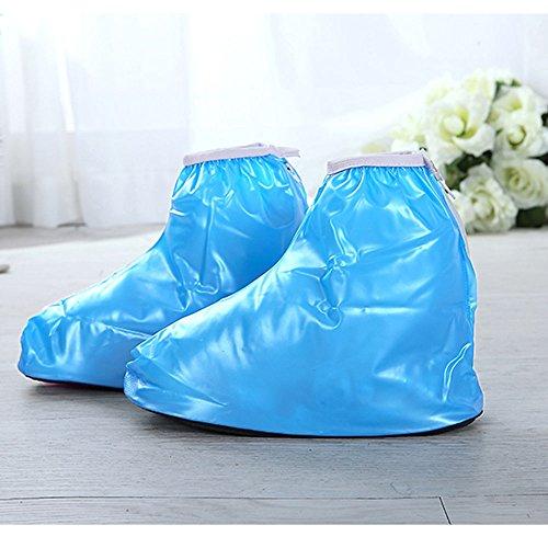 Spritech Children's Waterproof Rain Shoes Cover Reusable Boo