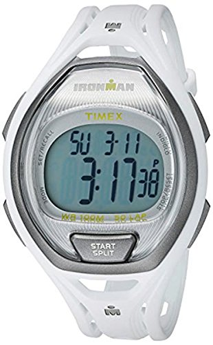 Timex Unisex TW5K96200 Ironman Sleek 50 White Full-Size Resin Strap - Man 2015 Iron