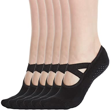 d6647dd37 Image Unavailable. Image not available for. Colour  Women s No Show Low Cut  Hospital Slipper Socks Great ...