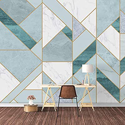 Premium Product, Amazing Expertise, Wall Mural Abstract Geometric Pattern Removable Wallpaper Wall Sticker for Bedroom Living Room