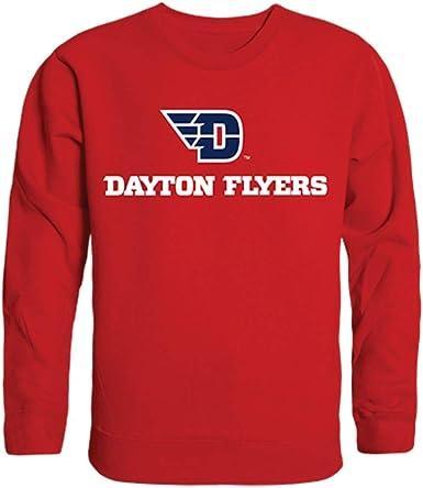 University of Dayton Flyers Crewneck Pullover Sweatshirt Sweater Red