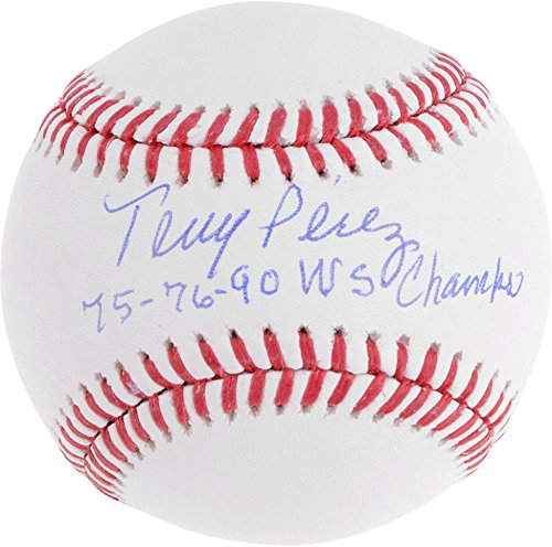 - Tony Perez Cincinnati Reds Autographed Baseball with