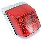 Feux Arrière Scooter Chromé de Grande Qualité Style Vespa PX 125/150/200
