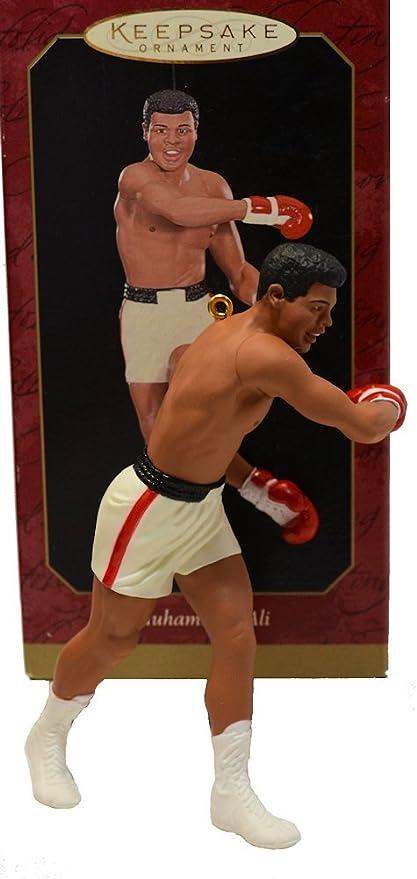 04147 QXI4147 Muhammad Ali 1999 Hallmark Keepsake Ornament Hallmark Cards Inc