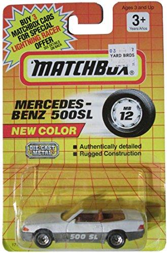 Matchbox New Color - Mercedes-Benz 500SL - Mb 12