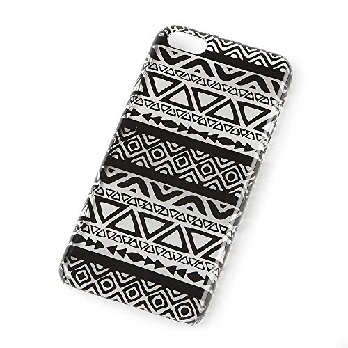 Icing Black and Clear Aztec Print Cover for iPhone 5c