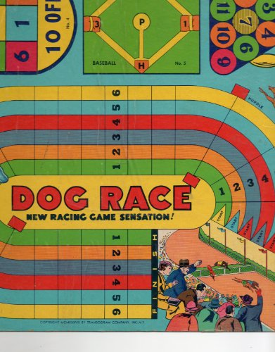 - Vintage Game Board: 1938 TRANSOGRAM COMPANY, INC. NY, A